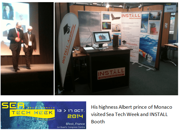 Sea Tech Week syand