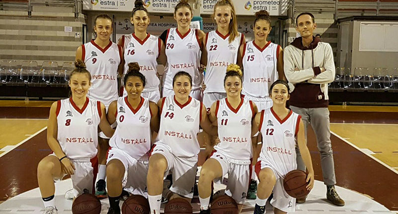 "Install is the official sponsor of Under-18 ""Basket girl Team of Ancona"""