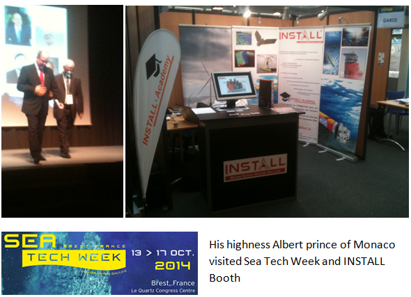 Sea Tech Week stand